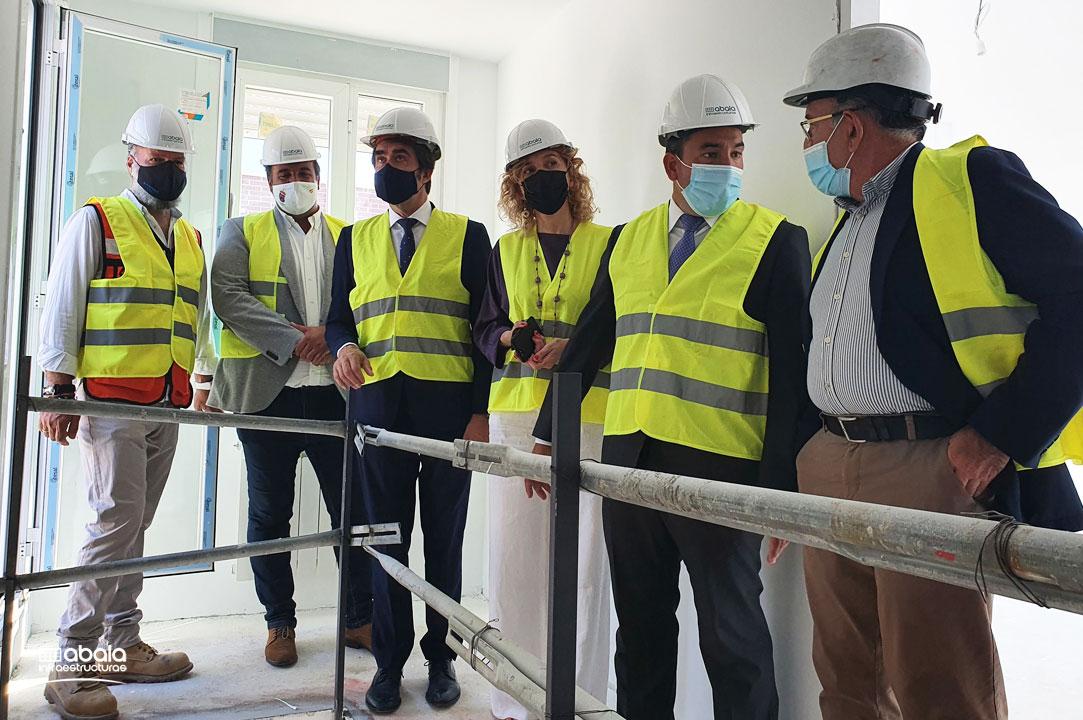 Ultimamos la construcción de 16 chalets adosados en Guijuelo con un alto nivel de eficiencia energética