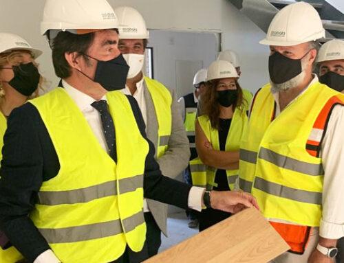 Abala Infraestructuras ultima la construcción de 16 chalets adosados en Guijuelo
